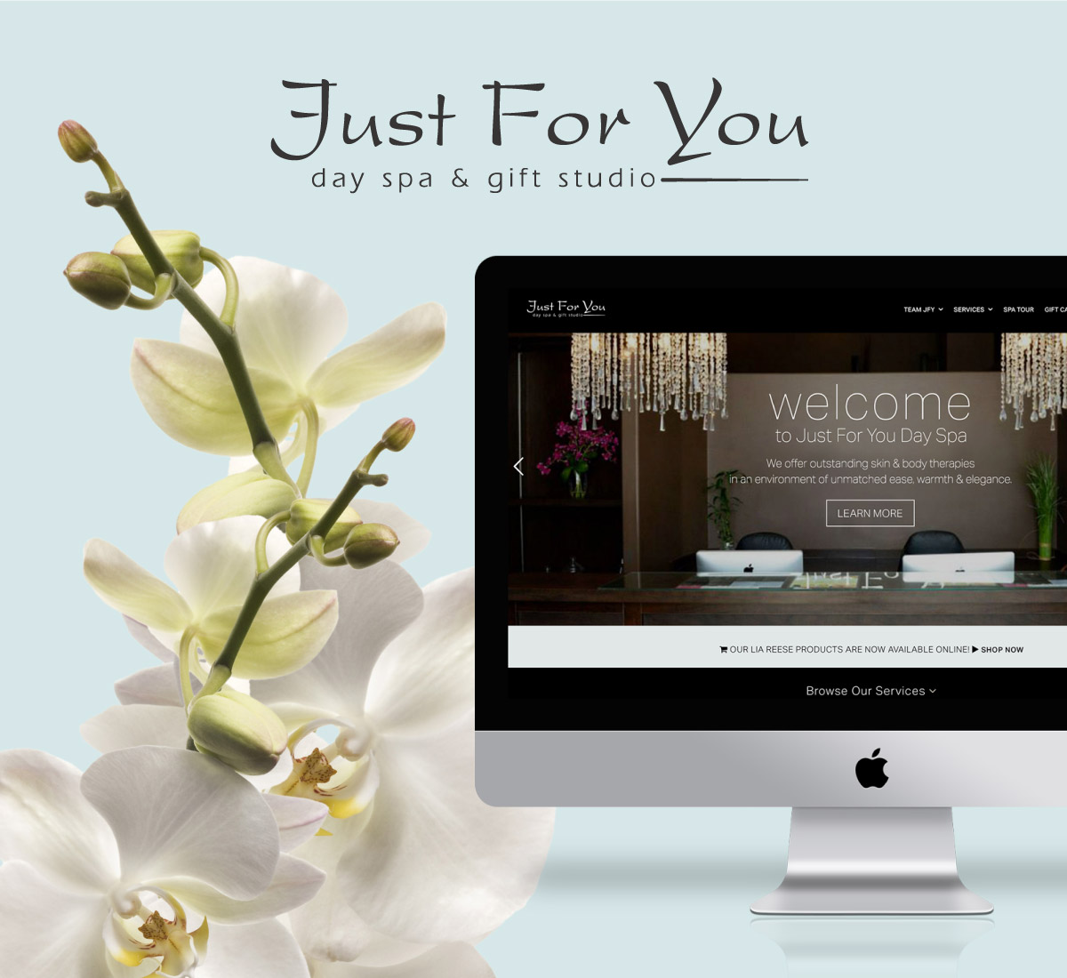 Crush Design Company | Just For You Day Spa1