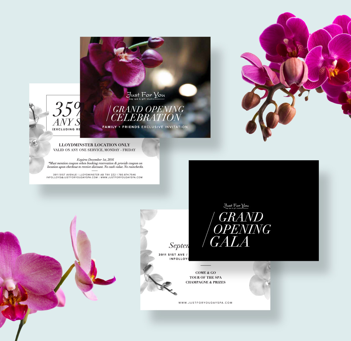 Crush Design Co | Just For You Day Spa 9
